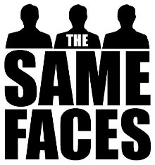 The same faces